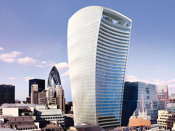 Contract Secured For Walkie Talkie Tower 4th January